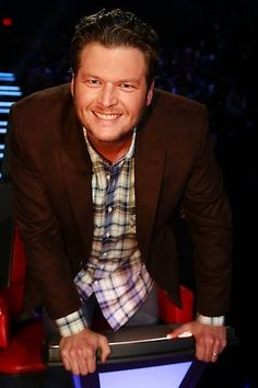 Blake and his famous grin