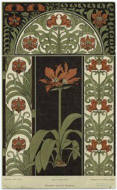Amaryllis, Heukelom, Jan Bertus, 1875-1965