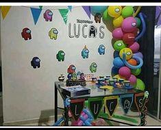 Birthday Flags, Sons Birthday, Girl Birthday, Birthday Parties, Ideas Para Fiestas, Troll Party, Birthday Decorations, Party Themes, Birthdays