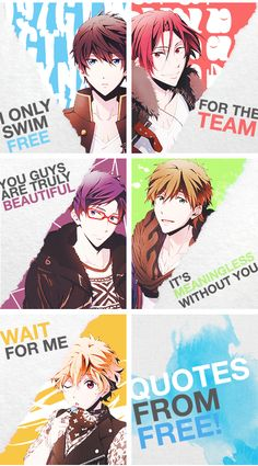 Free! Iwatobi Swim Club~