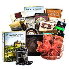A Bit of Everything International The Bit of Everything Gift Basket features a unique variety of products sure to satisfy any palate. This basket features Champagne Gift Baskets, Butter Toffee, Gourmet Gift Baskets, Tuscan Style, Chocolate Gifts, Corporate Gifts, Thoughtful Gifts, Gourmet Recipes, Valentine Gifts