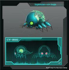 Creature Concept _ Wreck it Ralph