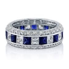 Image result for sapphire eternity bands