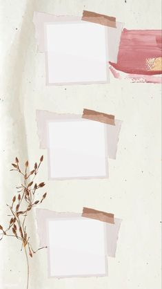 Flower Background Wallpaper, Collage Background, Framed Wallpaper, Cute Iphone Wallpaper Tumblr, Aesthetic Iphone Wallpaper, Polaroid Picture Frame, Instagram Frame Template, Polaroid Template, Photo Collage Template