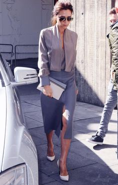 trendy ideas for style icons chic victoria beckham Estilo Fashion, Fashion Mode, Work Fashion, Fashion Design, Net Fashion, Fashion Clothes, Paris Fashion, Street Fashion, Fashion News
