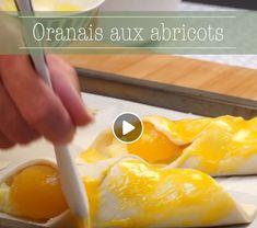 Recette en vidéo d'Oranais aux abricots - Marmiton Pineapple, Fruit, Food, Recipe Videos, Sweet Recipes, Pine Apple, Essen, Meals, Yemek