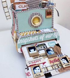 trading cards scrapbooking + music - Google Search