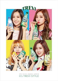 Shameless advertising by Blackpink - works on me though. Must buy Trevi. Kpop Girl Groups, Korean Girl Groups, Kpop Girls, Divas, Kim Jennie, Yg Entertainment, Forever Young, Black Pink Kpop, Hip Hop