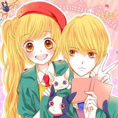"""Ich bin's Sweetlemonart on Instagram: """"Der nächste Manga den ich euch vorstelle ist Romantica Clock Ein Wunsch von @makoto.chanx #Akane #Aoi #romance #romantica #clock #romanticaclock #twin #twins"""""""