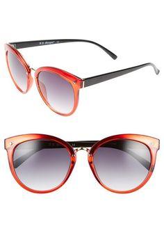 f716d4059b195 A.J. Morgan  Insistent  57mm Retro Sunglasses,  24