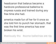 Don't mess with Belarus