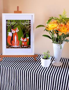 :: armelle blog ::: the fox inspired birthday party ...