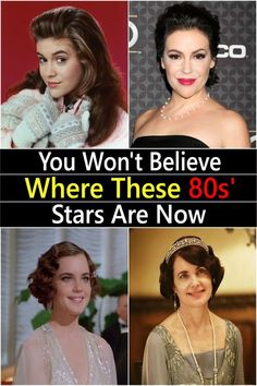 Living through the wasn't always easy: the Cold War was raging, fashion was - well, problematic to say the least, hair was big and New Wave was bigger. Still, it's difficult not to look back on this period Celebrities Then And Now, Famous Celebrities, Celebs, Top 10 Actors, Fashion Art, Fashion Beauty, Hymen, Hot Stories, Jennifer Connelly