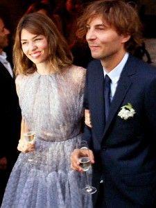 sofia coppola - wedding dress lavender