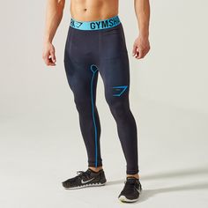 Gymshark Alpha Running Tights - Black - Base layer & compression - Shop By Category - Mens
