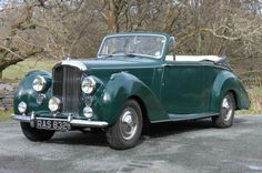 1954 Bentley R-Type Automatic 2dr Convertible B190YD