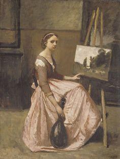 Camille Corot, L'Atelier de Corot (1860)