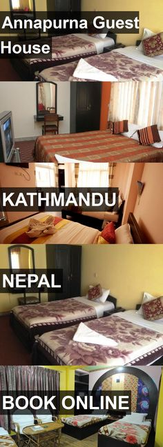 Annapurna Guest House in Kathmandu, Nepal. For more information, photos, reviews and best prices please follow the link. #Nepal #Kathmandu #travel #vacation #guesthouse