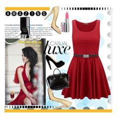 """""""ReD :) :)"""" by mercy-angel ❤ liked on Polyvore"""