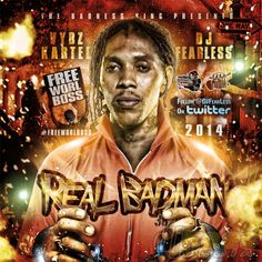 Listen This Brand New Vybz Kartel Mixtape By DJ Fearless Featuring 68 Of The Best