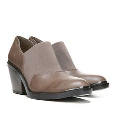 Look what I found on #zulily! Taupe Acre Stretch Leather Bootie #zulilyfinds