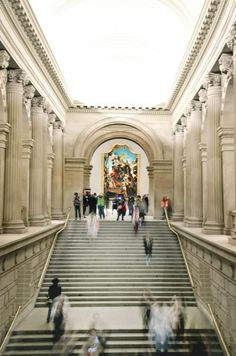 Closing Time at The Metropolitan Museum in NYC - Long exposure- By Tina Lalonde RiverRat Imaging