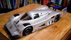 Tamiya 1/10 Mercedes C11 LM