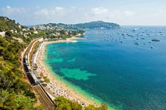 (Getty Creative) 10 Scenic Train Trips In Europe: French Riviera: Saint Raphael, France, to Ventimiglia, Italy (There's no disputing the Cote d'Azur is one of Europe's loveliest coastlines, with golden beaches and bright blue waters stretching for more than 100km. Skirt the shoreline from Fréjus in France to Ventimiglia in Italy and you can give this sandy playground a closer inspection, because there are ample opportunities to stop and soak up the atmosphere if you catch one of the…