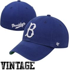 3ac00468e Brooklyn Dodgers Cooperstown Franchise Fitted Hat – Blue Dodger Hats,  Dodgers Gear, Go Blue