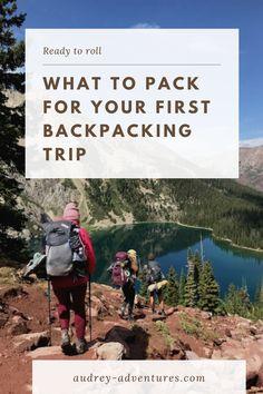 Thru Hiking, Hiking Tips, Hiking Gear, Hiking Backpack, Backpacking For Beginners, Backpacking Gear, Adventure Travel, Adventure Time, What To Pack