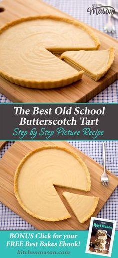Butterscotch Tart | Easy Dessert Recipes | Easy Caramel Recipes