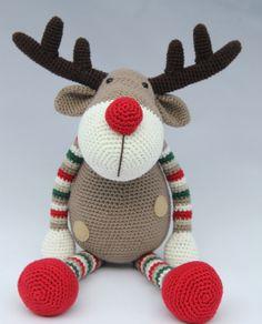 Dots & CROCHET - Reindeer Ralf c'est ici pour commander le modèle