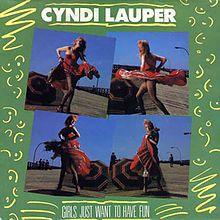 Modo ochentero ON.  Cyndi Lauper - Girls just wanna have fun