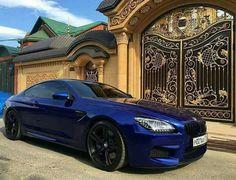 BMW F13 M6 blue