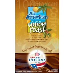 MADE IN USA - USA Company Coffee 12oz Union Roast Bean - Coffee - Grocery
