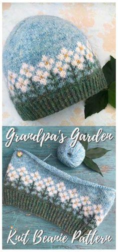 Fair Isle Knitting Patterns, Knitting Stitches, Free Knitting, Knit Hat Patterns, Knitted Mittens Pattern, Knitting Humor, Fair Isle Pattern, Easy Crochet Patterns, Crochet Crafts