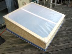 DIY Building a Simple Cold Frame from bhg.com.   Wanting to put one over the front flower bed this fall!
