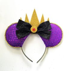 Hey, I found this really awesome Etsy listing at https://www.etsy.com/listing/260560159/evil-queen-ears-snow-white-evil-queen