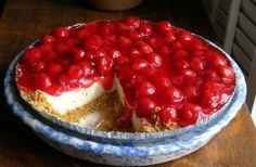 Easy Cherry Cheese Cake Recipe ~ Back Roads Living