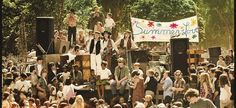 It was the biggest block party of the century, the precursor to a festival culture that lives on today. In the summer of 1967, tens of thousands of people from all over the country descended upon the intersection of Haight and Ashbury streets near San Francisco's Golden Gate Park to hear live musi