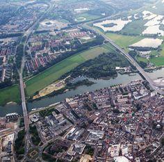 Ballonvaren vanuit Arnhem Shelters, Bridges, Holland, Dutch, Lanterns, Tent, City Photo, Travel Destinations, Buildings