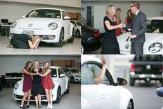 Winner of the brand new #Volkswagen Beetle.