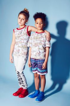 Vintage map prints at Ruff and Huddle unisex style clothing for summer 2015