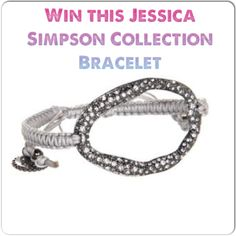 Blog Giveaway! Win this Jessica Simpson Collection Bracelet! www.facebook.com/mybalancedplate