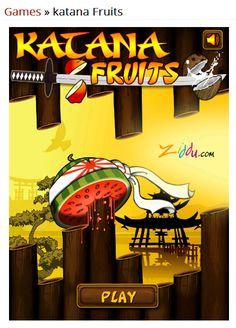 Play online Katana Fruit game at Ziddu com  and earn Bitcoins http://bit.ly/1Fm5gPh