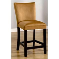 Empire Honey Gold Microfiber Counter Stools (Set of 2) | Overstock.com Shopping - The Best Deals on Bar Stools $260/2