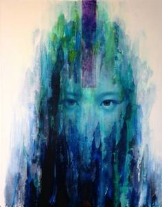 "Saatchi Art Artist Zin Lim; Painting, ""ID#18.1"" #art"