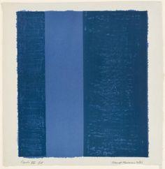 Barnett Newman, Canto VII (1963) L'après I would prefer not to de Bartleby (Je préférerais ne pas)