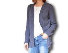 Jak ušít kardigan bez střihu Sewing, Sweaters, Fashion, Sew, Moda, Dressmaking, Couture, Fashion Styles, Stitching