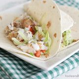 Cookbook of the Month Recipe – Baja Style Fish Tacos